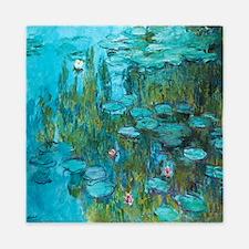 Water Lilies by Monet Queen Duvet