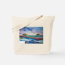 Lanikai Canoe Tote Bag