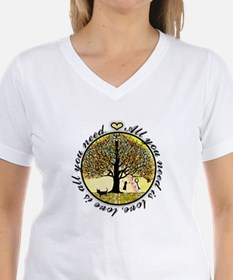 Tree of Life All You Need is Love T-Shirt