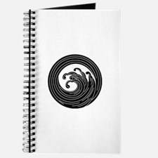 Swirl-like wave circle Journal
