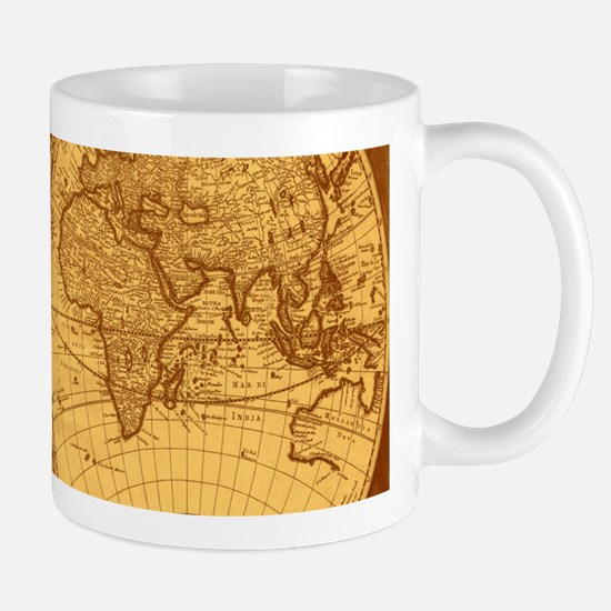 Exquisite Antique Atlas Map Mugs