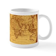 Exquisite Antique Atlas Map Mugs