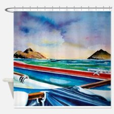 Lanikai Canoe Shower Curtain