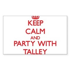 Talley Decal