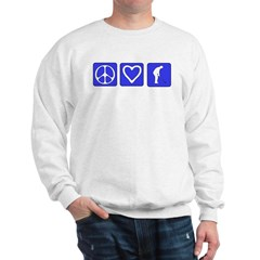 Peace Love Golf Sweatshirt
