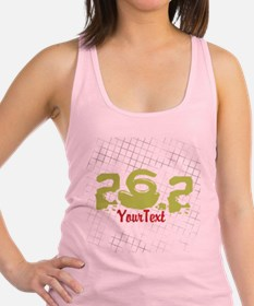 Marathon Optional Text Racerback Tank Top