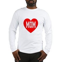 Mom Heart Long Sleeve T-Shirt