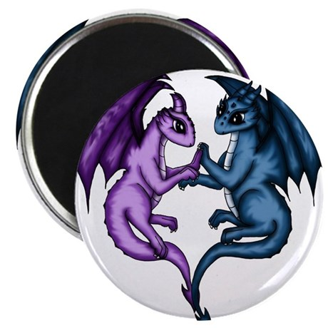 Dragon Couple Magnets