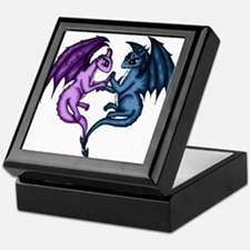 Dragon Couple Keepsake Box