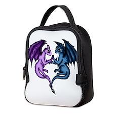 Dragon Couple Neoprene Lunch Bag