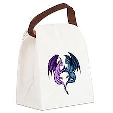 Dragon Couple Canvas Lunch Bag
