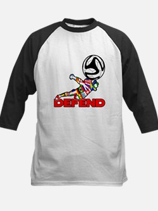 Goalie Defend Baseball Jersey