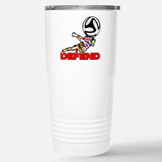Goalie Defend Travel Mug