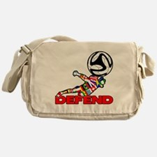 Goalie Defend Messenger Bag