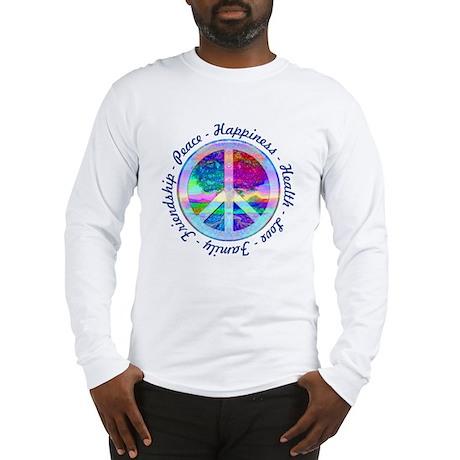 Peace Symbol Long Sleeve T-Shirt