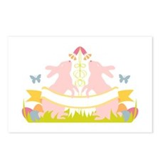 Easter Bunny Crest Postcards (Package of 8)