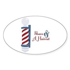 Shave And A Haircut Decal