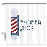 Barber shop Shower Curtains