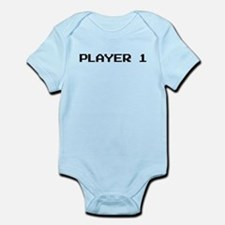 Player 1 Infant Body Suit