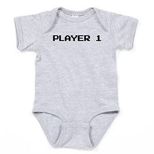 Player 1 Baby Bodysuit