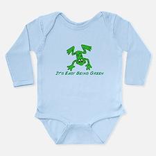 Frog It's Easy Long Sleeve Infant Bodysuit