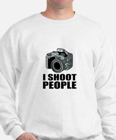 I Shoot People Photography Sweatshirt