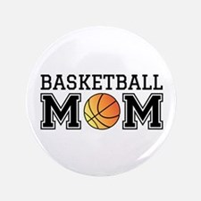 """Basketball mom 3.5"""" Button (100 pack)"""