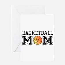 Basketball mom Greeting Cards