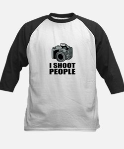 I Shoot People Photography Baseball Jersey