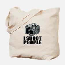 I Shoot People Photography Tote Bag