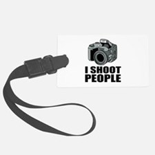 I Shoot People Photography Luggage Tag