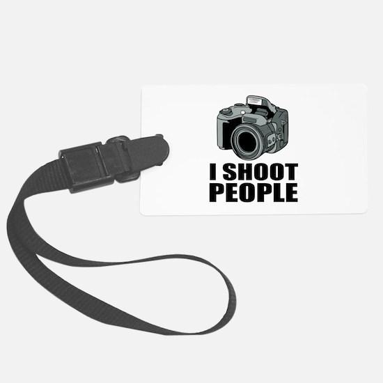 I Shoot People Photography Luggage Tag