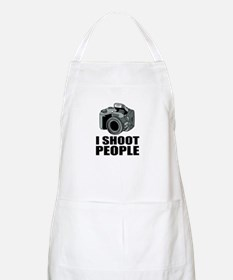Funny I Shoot People Photography Bbq Apron