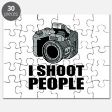 I Shoot People Photography Puzzle