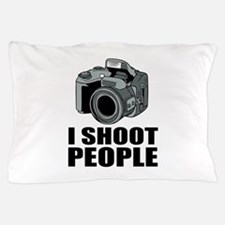 I Shoot People Photography Pillow Case