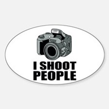 I Shoot People Photography Decal