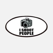 I Shoot People Photography Patches