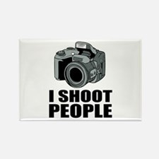 I Shoot People Photography Magnets