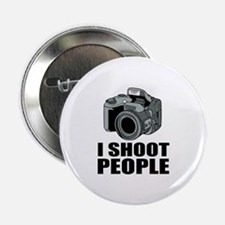 "I Shoot People Photography 2.25"" Button (100 pack)"