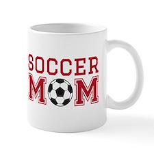 Soccer mom red Mugs