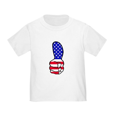 Thumbs Up Support Toddler T-Shirt