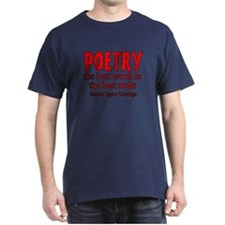 Poetry: Best Words T-Shirt