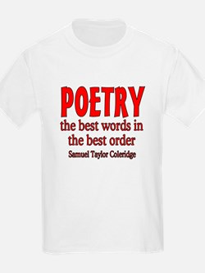 Poetry: Best Words T-Shirt