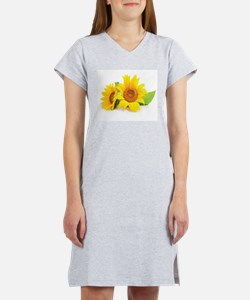 Sunflowers Women's Nightshirt