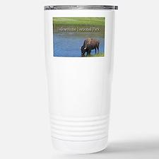 Wild American Buffalo i Travel Mug