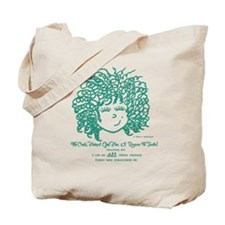 The Curly Haired Girl Can Do ALL Things T Tote Bag