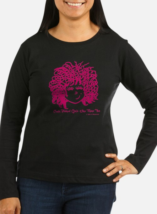 Curly haired girl T-Shirt