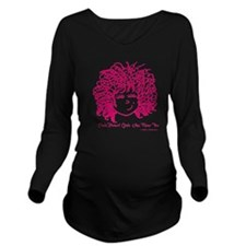 Curly haired girls A Long Sleeve Maternity T-Shirt