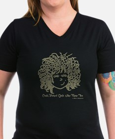 Curly haired girls Are Shirt