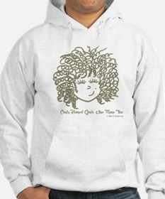 Curly haired girls Are More Fun Hoodie